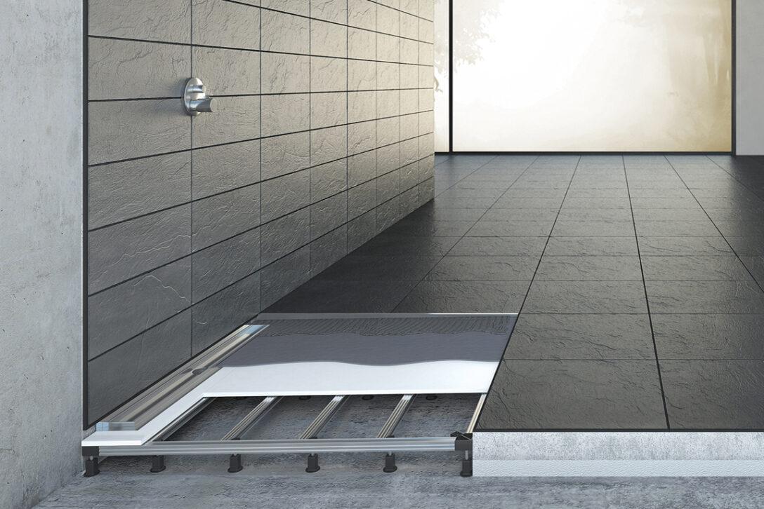 Large Size of Bodengleiche Dusche Einbauen Einbautiefe Antirutschmatte Duschen Bodengleich Ebenerdig Grohe Thermostat Begehbare Komplett Set Kaufen Moderne Schiebetür Wand Dusche Dusche Bodengleich
