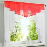 Jifncr Garn Vorhang Nhte Farben Tll Balkon Kchenvorhnge Wohnzimmer Küchenvorhänge