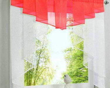 Küchenvorhänge Wohnzimmer Jifncr Garn Vorhang Nhte Farben Tll Balkon Kchenvorhnge