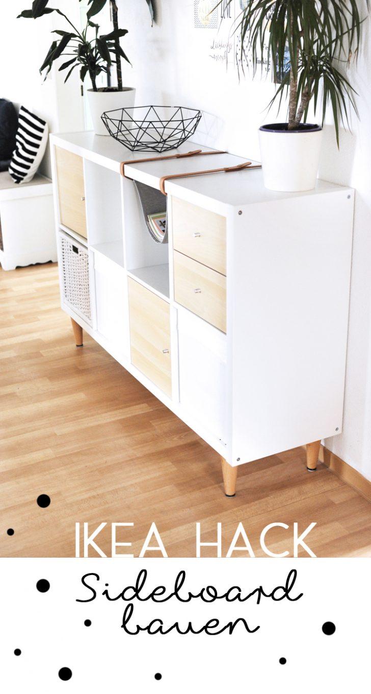 Medium Size of Sideboard Ikea Gnstig Selber Machen Hack Bonny Und Kleid Miniküche Sofa Mit Schlaffunktion Küche Kosten Kaufen Wohnzimmer Arbeitsplatte Betten 160x200 Wohnzimmer Sideboard Ikea