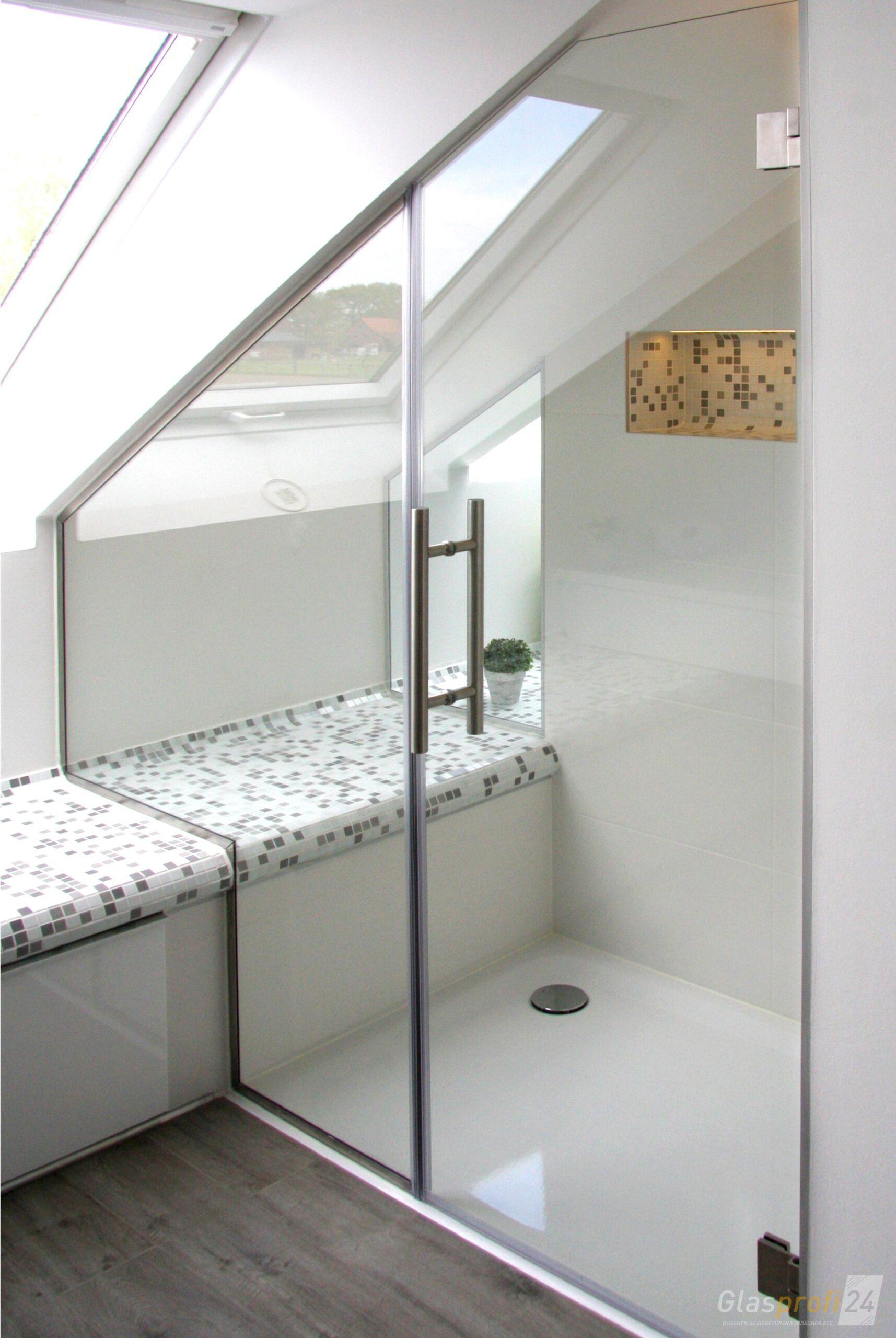Full Size of Nischendusche Aus Glas Duschtr In Nische Glasprofi24 Dusche Ebenerdig Bodengleiche Duschen 80x80 Begehbare Fliesen Kaufen Glastür Unterputz Armatur Dusche Glastrennwand Dusche
