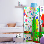 Raumteiler Kinderzimmer Kinderzimmer Raumteiler Fr Deko Paravent Trennwand Kinderzimmer 2 Regal Weiß Regale Sofa