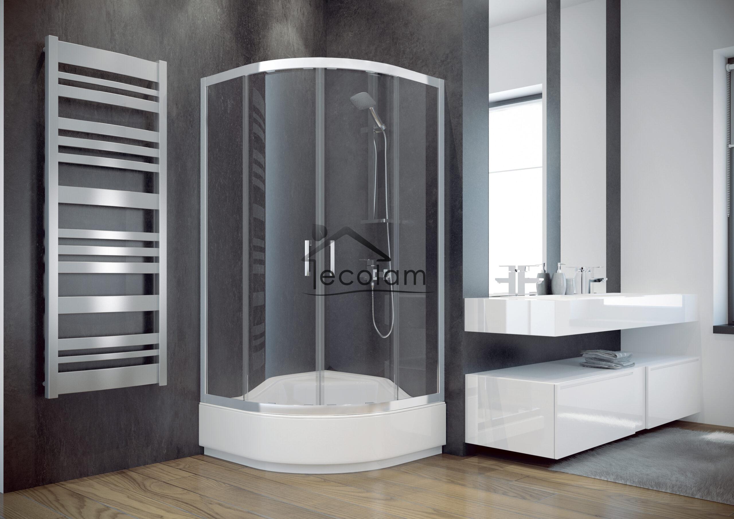 Full Size of Glasabtrennung Dusche Duschkabine Transparentes Glas 90x90 Cm R55 165 Modern Begehbare Fliesen Bodengleiche Duschen Einbauen Schulte Komplett Set Nachträglich Dusche Glasabtrennung Dusche