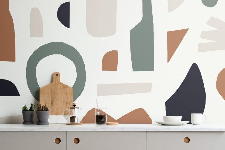 Medium Size of Tapeten Kche Murals Wallpaper De Wohnzimmer Küchentapeten