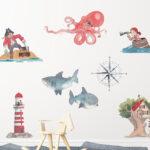 Piraten Kinderzimmer Kinderzimmer Piraten Kinderzimmer Regale Regal Weiß Sofa