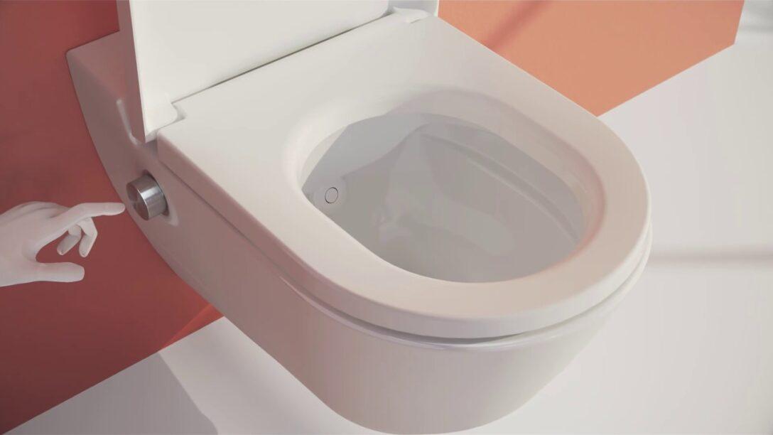 Large Size of Dusch Wc Test Cleanet Navia Laufen Bathrooms Bodengleiche Dusche Einbauen Duschen Kaufen Hsk Nischentür Einhebelmischer Eckeinstieg 80x80 Fliesen Wand Dusche Dusch Wc Test
