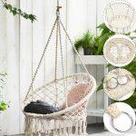 Schaukel Erwachsene Outdoor Indoor Holz Balkon Hoch Metall Garten Wohnung 150 Kg Schaukelstuhl Für Wohnzimmer Schaukel Erwachsene