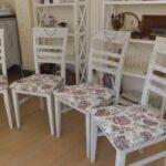 Esstischstühle Esstische 4 Sthle Esstischsthle Polstersthle Shabby Chic Esstischstühle