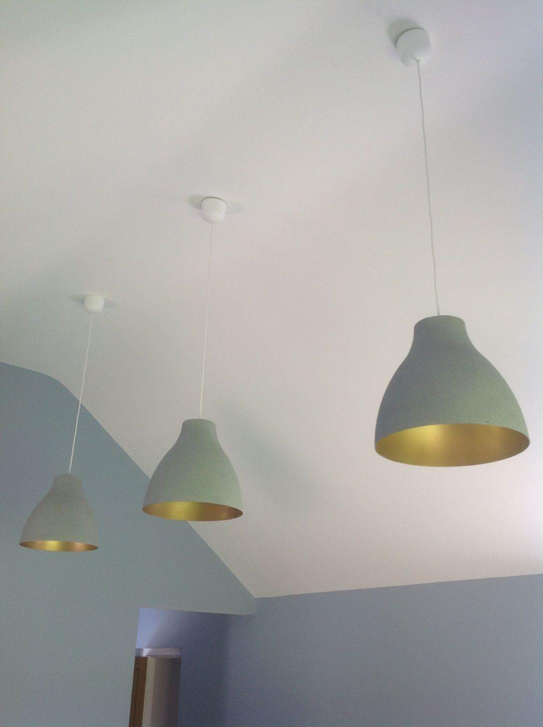 Large Size of Küchenlampen Ikea Hack Melodi White Plastic Lampshades Transformed Wohnzimmer Küchenlampen