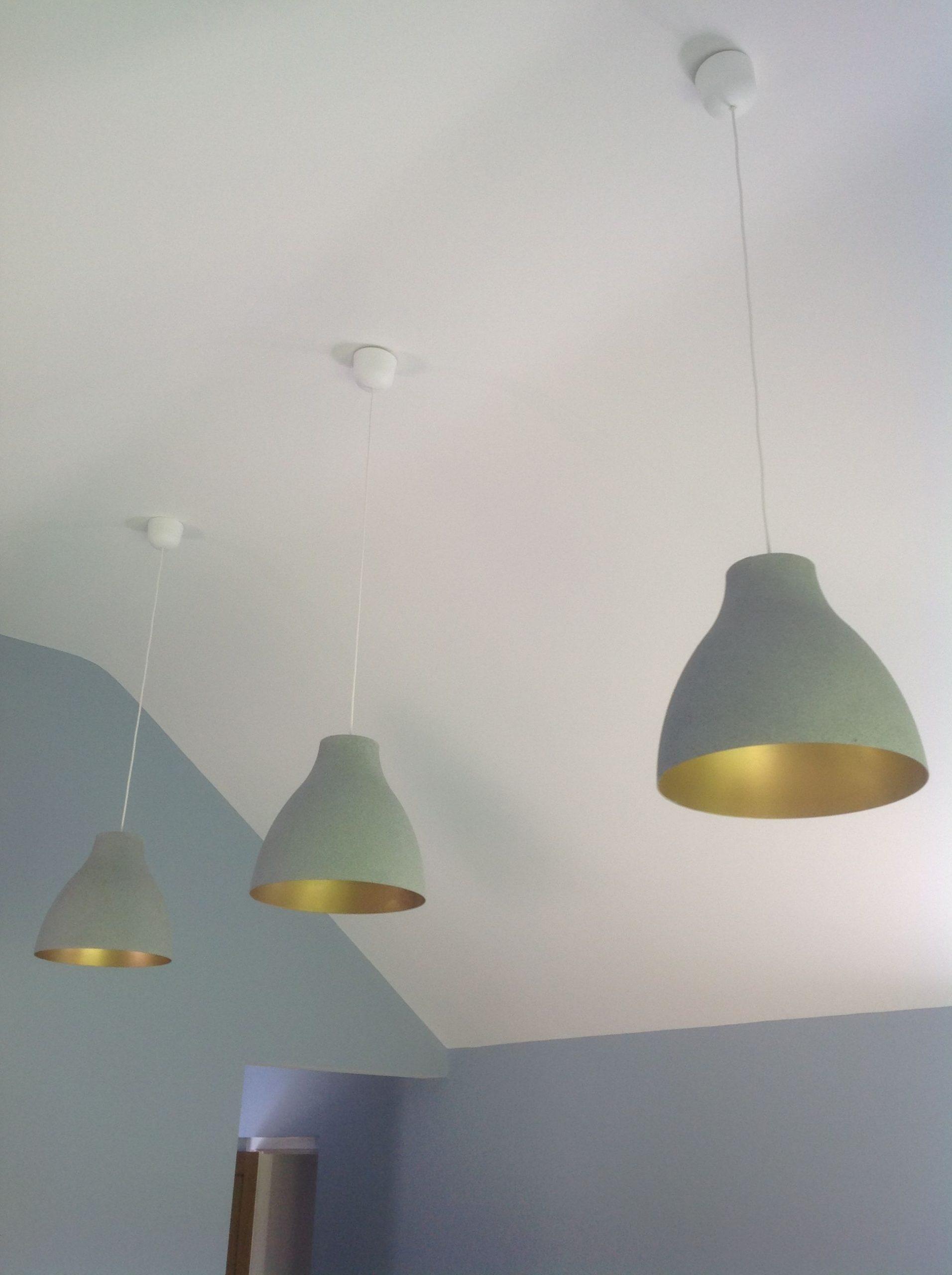 Full Size of Küchenlampen Ikea Hack Melodi White Plastic Lampshades Transformed Wohnzimmer Küchenlampen