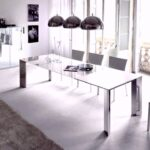 Esstisch Teppich Stilvolles Weies Esszimmer Design Metall Shabby Chic Landhaus Rund Ausziehbar Moderne Esstische Stühle Betonplatte Designer Rustikal Holz Esstische Esstisch Teppich