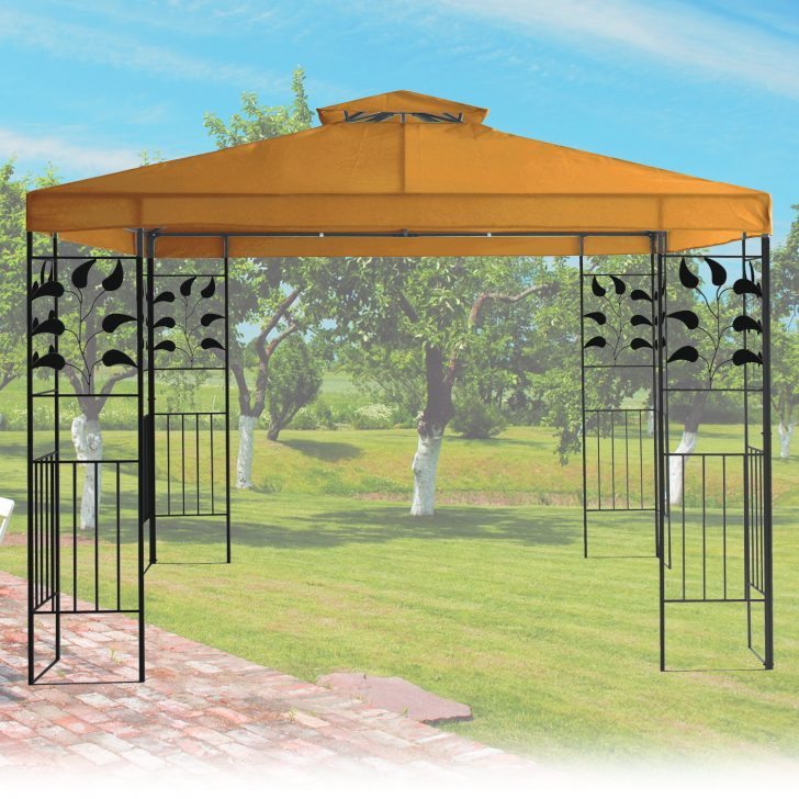Medium Size of Gartenpavillon Metall Pavillon 4x4 Hornbach Dach Regal Weiß Regale Bett Wohnzimmer Gartenpavillon Metall