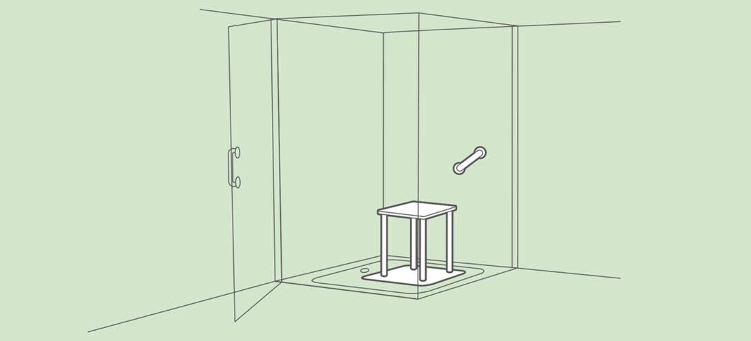 Large Size of Behindertengerechte Dusche Barrierefreie Pflegede Fliesen Für Walk In Fenster Austauschen Kosten Anal Einhebelmischer Komplett Set Antirutschmatte Bad Dusche Ebenerdige Dusche Kosten