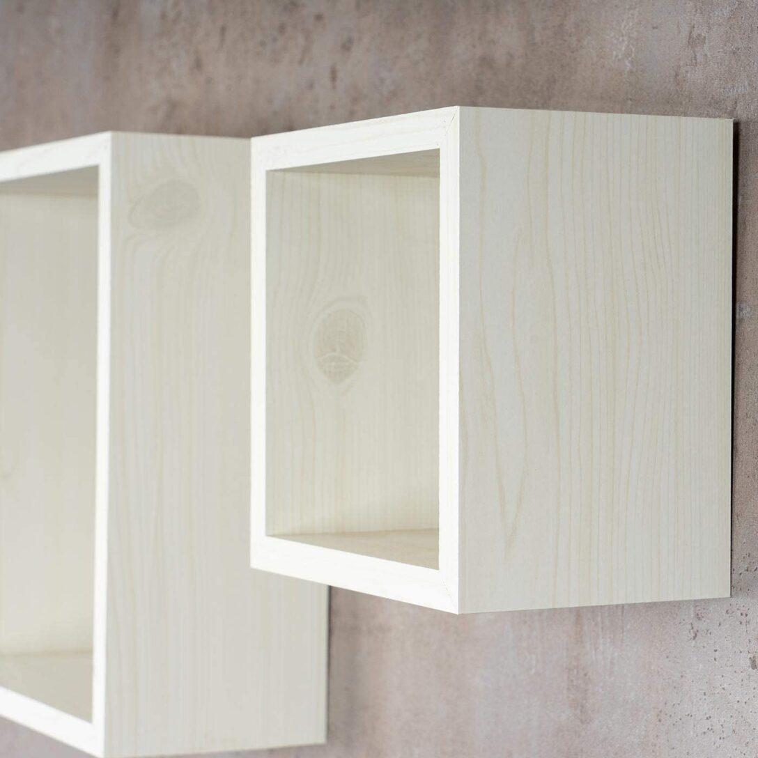 Large Size of 3er Set Cube Wandregal Regal 25cm 20cm 15cm Holz Ahorn Dekor Wei Schlafzimmer Gebrauchte Regale Hamburg Raumtrenner Kanban Rot Mit Schubladen Buche Leiter Regal Regal Ahorn