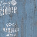 Tapete Coffee Kche Bistro Blau As Creation 33481 5 Outdoor Küche Kaufen Laminat Für Eckschrank Was Kostet Eine Neue Werkbank Fettabscheider Fototapete Wohnzimmer Küche Tapete