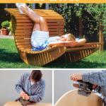 Gartenliege Schaukel Holz Schaukelliege Schaukelstuhl Doppel Liegestuhl Mit Schaukelfunktion Amazon Schaukeln Garten Für Kinderschaukel Wohnzimmer Gartenliege Schaukel