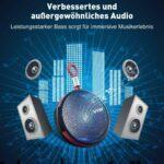 Bluetooth Lautsprecher Dusche Tragbarer Mini Speaker Musikbox Bodengleiche Nachträglich Einbauen Siphon Glastrennwand Badewanne Glastür Barrierefreie Dusche Bluetooth Lautsprecher Dusche