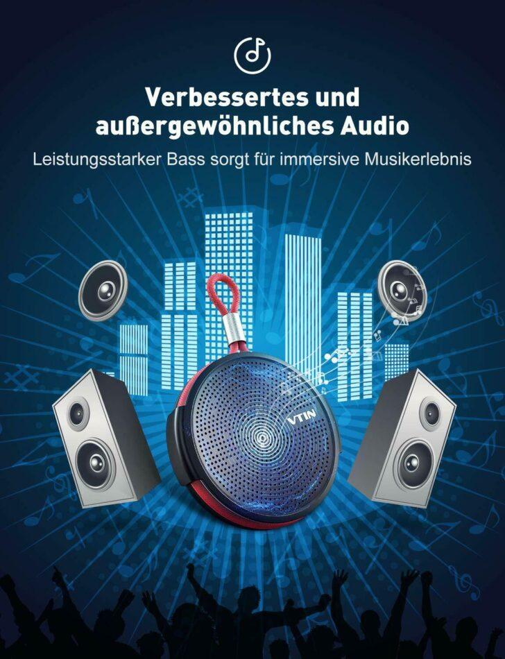 Medium Size of Bluetooth Lautsprecher Dusche Tragbarer Mini Speaker Musikbox Bodengleiche Nachträglich Einbauen Siphon Glastrennwand Badewanne Glastür Barrierefreie Dusche Bluetooth Lautsprecher Dusche