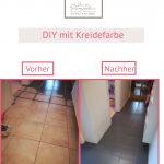Fliesen Streichen Mit Kreidefarbe Ideen Sammlung Bad Bodenfliesen Küche Wohnzimmer Bodenfliesen Streichen
