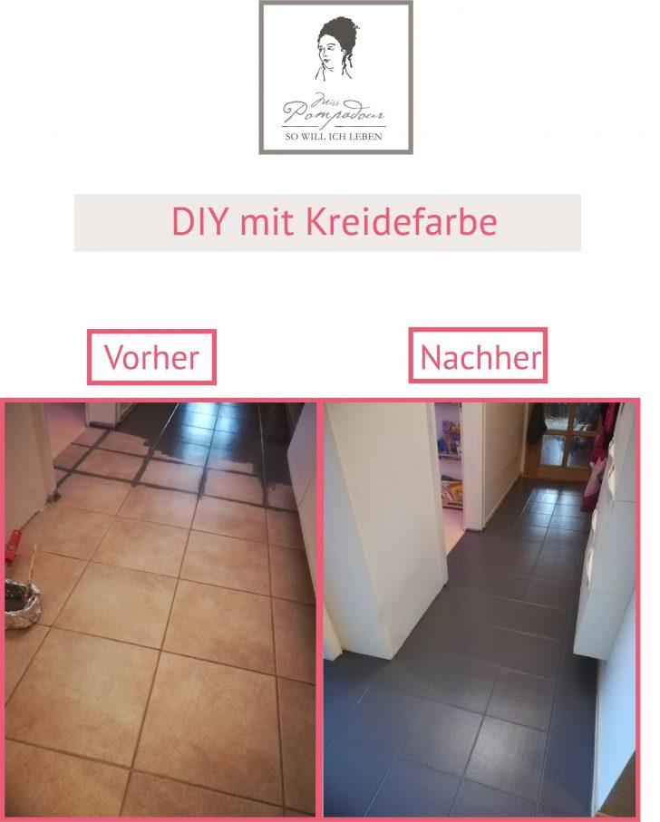 Medium Size of Fliesen Streichen Mit Kreidefarbe Ideen Sammlung Bad Bodenfliesen Küche Wohnzimmer Bodenfliesen Streichen