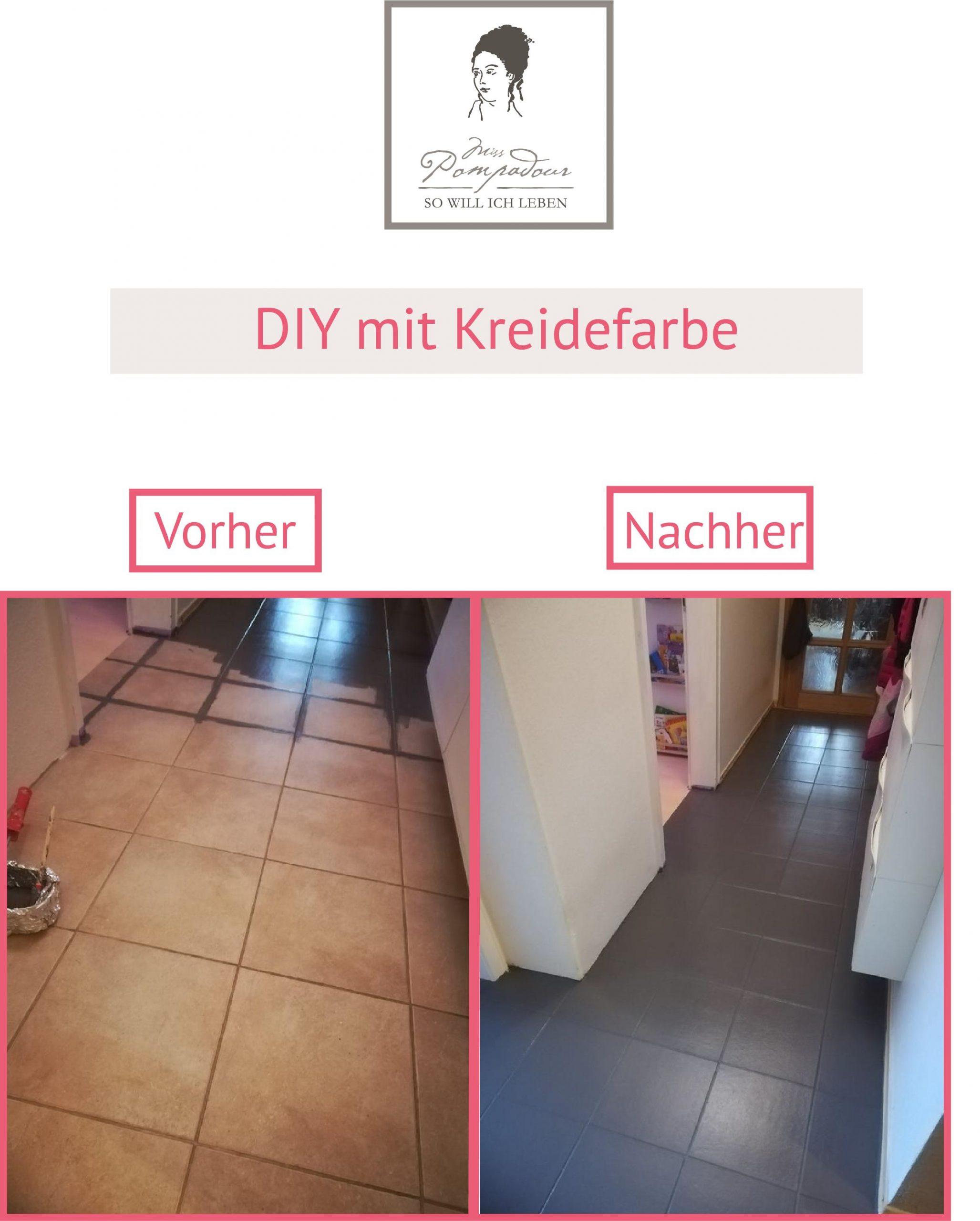 Full Size of Fliesen Streichen Mit Kreidefarbe Ideen Sammlung Bad Bodenfliesen Küche Wohnzimmer Bodenfliesen Streichen