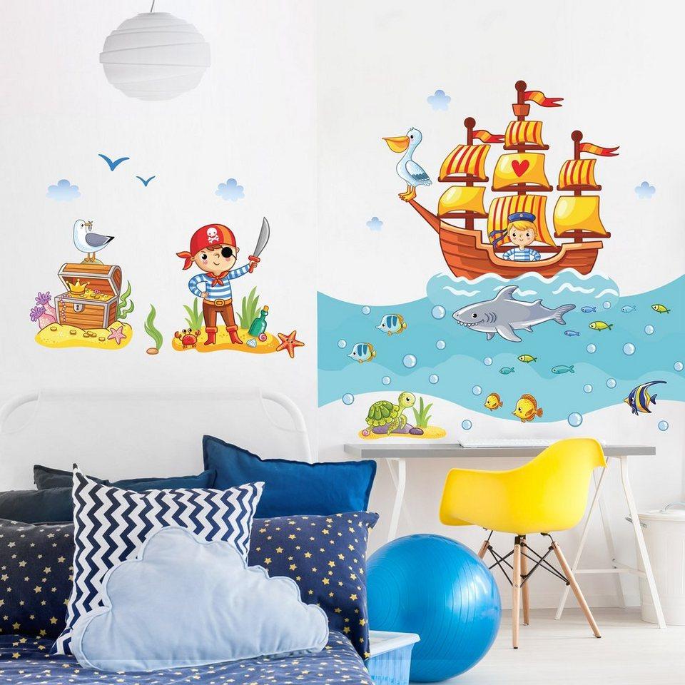 Full Size of Piraten Kinderzimmer Bilderwelten Wandtattoo Set Otto Regal Weiß Sofa Regale Kinderzimmer Piraten Kinderzimmer