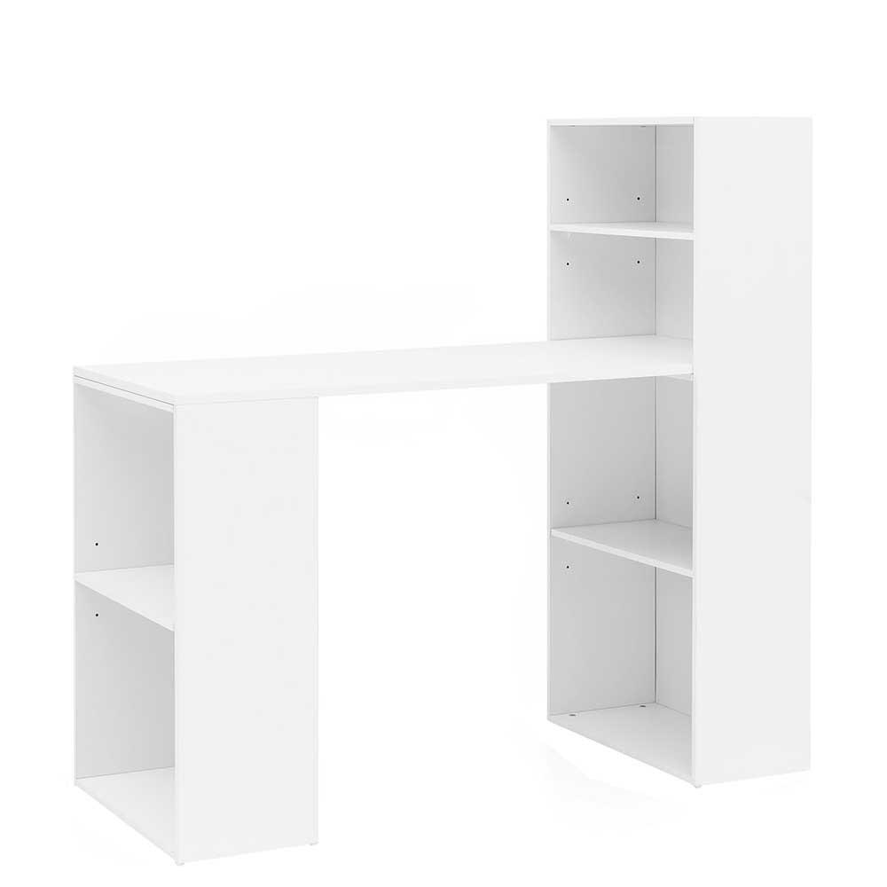 Full Size of Schreibtisch Regal Kombination Mit Ikea Regalsystem Regalaufsatz Kombi Integriert String Expedit Regalwand 120x120x53 In Wei Wangen Gestell 40 Cm Breit Holz Regal Schreibtisch Regal