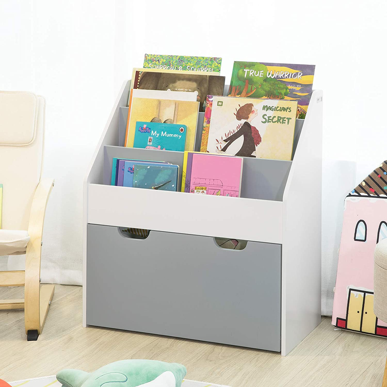 Full Size of Kinderzimmer Bücherregal Sobuy Kmb17 Hg Bcherregal Kinderregal Mit 3 Ablagefchern Regal Regale Weiß Sofa Kinderzimmer Kinderzimmer Bücherregal