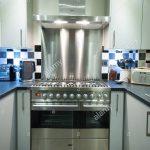 Spritzschutz Küche Wohnzimmer Spritzschutz Küche Eine Moderne Gas Elektroherd Herd Mit Abzugshaube Und Ebay Einbauküche Stehhilfe Gardinen Für Die Bodenbelag Industrielook Selber Bauen