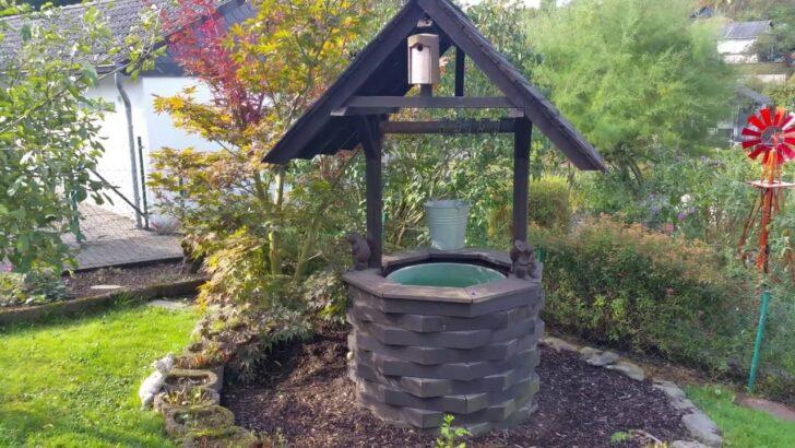 Medium Size of Brunnen Selber Bauen Holzbrunnen Youtube Wasserbrunnen Garten Regale Bodengleiche Dusche Einbauen Nachträglich Boxspring Bett Fenster Rolladen Im Einbauküche Wohnzimmer Brunnen Selber Bauen