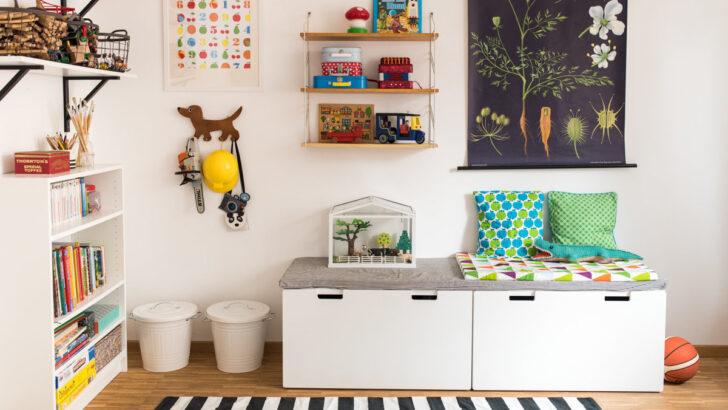 Medium Size of Ideen Fr Stauraum Und Aufbewahrung Im Kinderzimmer Regal Sofa Weiß Regale Kinderzimmer Aufbewahrungsboxen Kinderzimmer