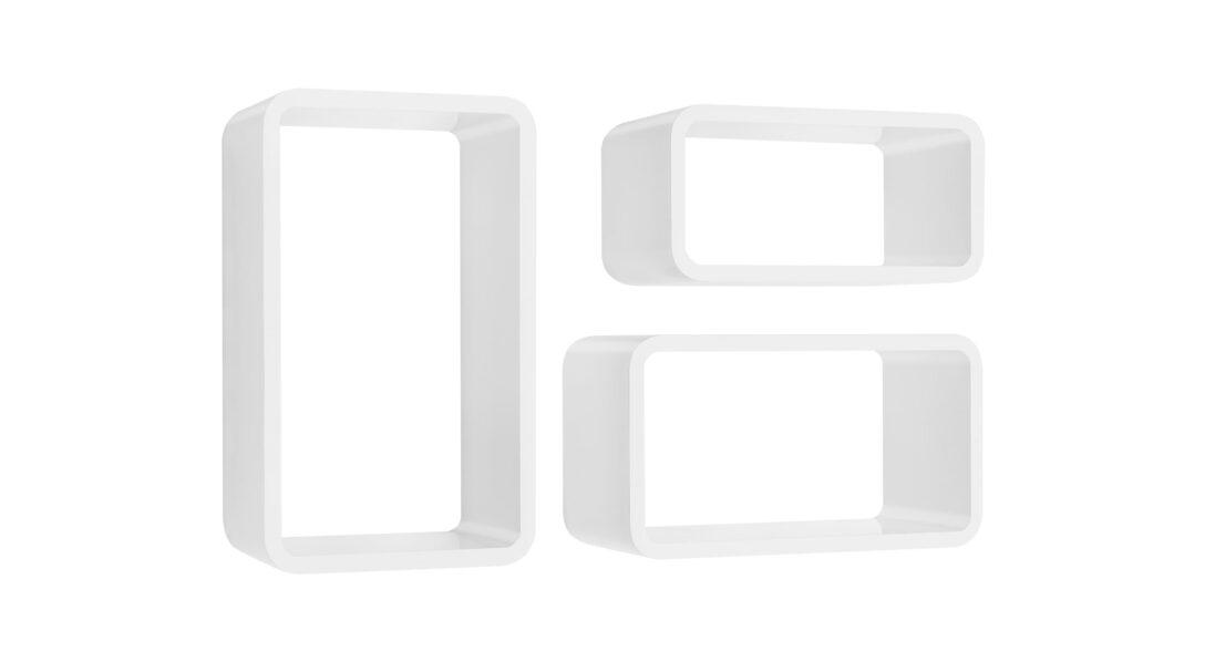 Large Size of Longcube Wrfelregal Set Wei Hochglanz Regalraumcom Wandregal Küche Landhaus Massivholz Regal Nach Maß Günstig Bad Aus Kisten Runder Esstisch Ausziehbar Regal Weiß Hochglanz Regal