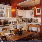 Tapete Für Küche Kiefer Tisch Und Sthle In Wei Traditionelle Kche Mit Sitzgruppe Sichtschutzfolie Fenster Fototapete Mischbatterie Salamander Finanzieren Wohnzimmer Tapete Für Küche