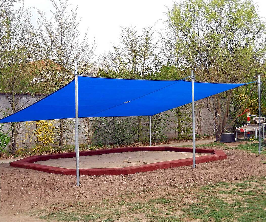 Full Size of Sonnenschutz Trampolin Sonnensegelanlage 4 M Sonnenschutzfolie Fenster Innen Außen Garten Für Wohnzimmer Sonnenschutz Trampolin