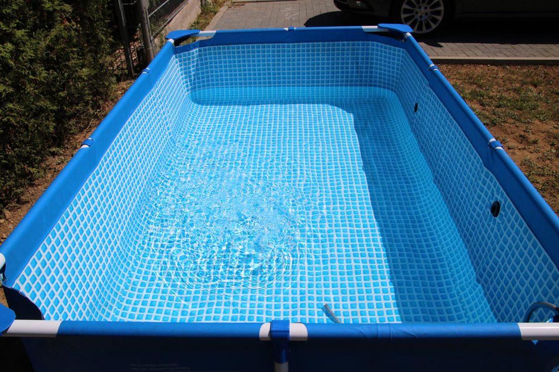 Large Size of Garten Pool Holz Rechteckig Gartenpool 3m Mit Sandfilteranlage Bestway Pumpe Kaufen Sommer Sonne Sonnenschein Noch Schner Wohnzimmer Gartenpool Rechteckig
