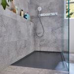 Bodenebene Dusche Dusche Bodenebene Duschen Im Xxl Format Anstelle Einer Badewanne Dusche Unterputz Armatur Mit Tür Und Bodengleiche Ebenerdig Mischbatterie Walkin Ebenerdige Kosten