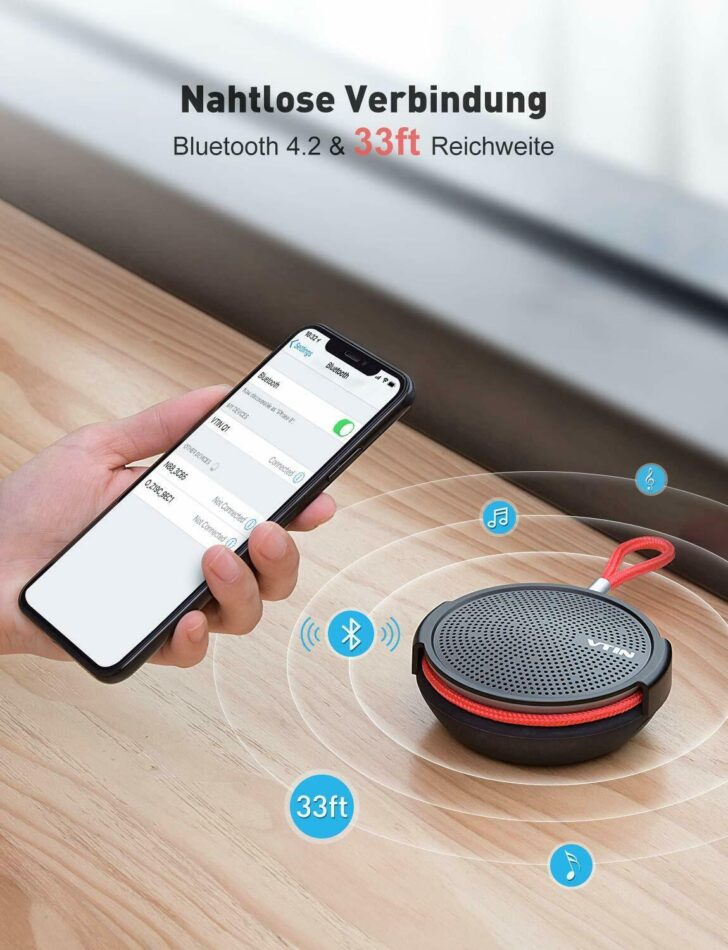 Medium Size of Bluetooth Lautsprecher Dusche Tragbarer Mini Speaker Musikbox Hsk Duschen Grohe 80x80 Thermostat Unterputz Armatur Mischbatterie Bodenebene Einhebelmischer Dusche Bluetooth Lautsprecher Dusche