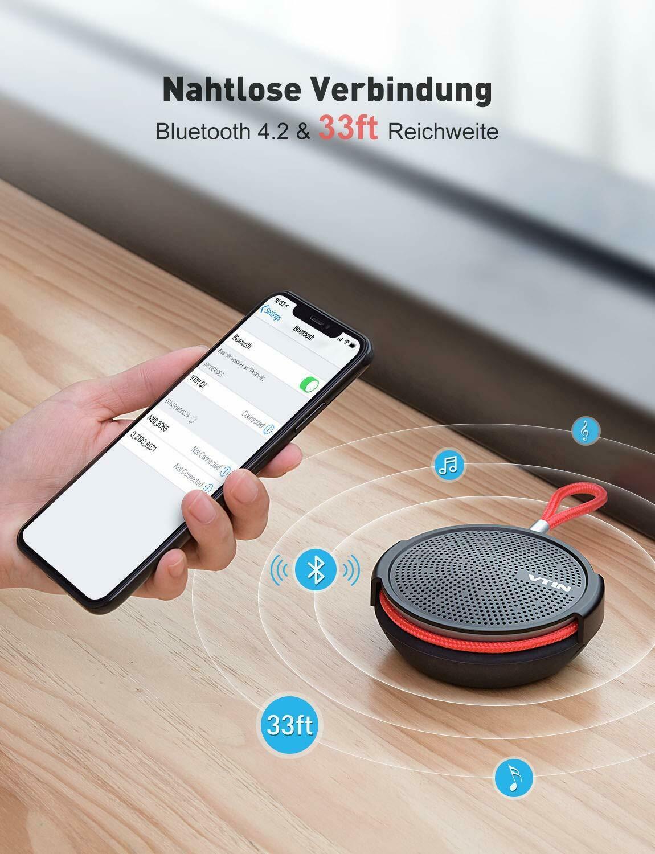 Full Size of Bluetooth Lautsprecher Dusche Tragbarer Mini Speaker Musikbox Hsk Duschen Grohe 80x80 Thermostat Unterputz Armatur Mischbatterie Bodenebene Einhebelmischer Dusche Bluetooth Lautsprecher Dusche