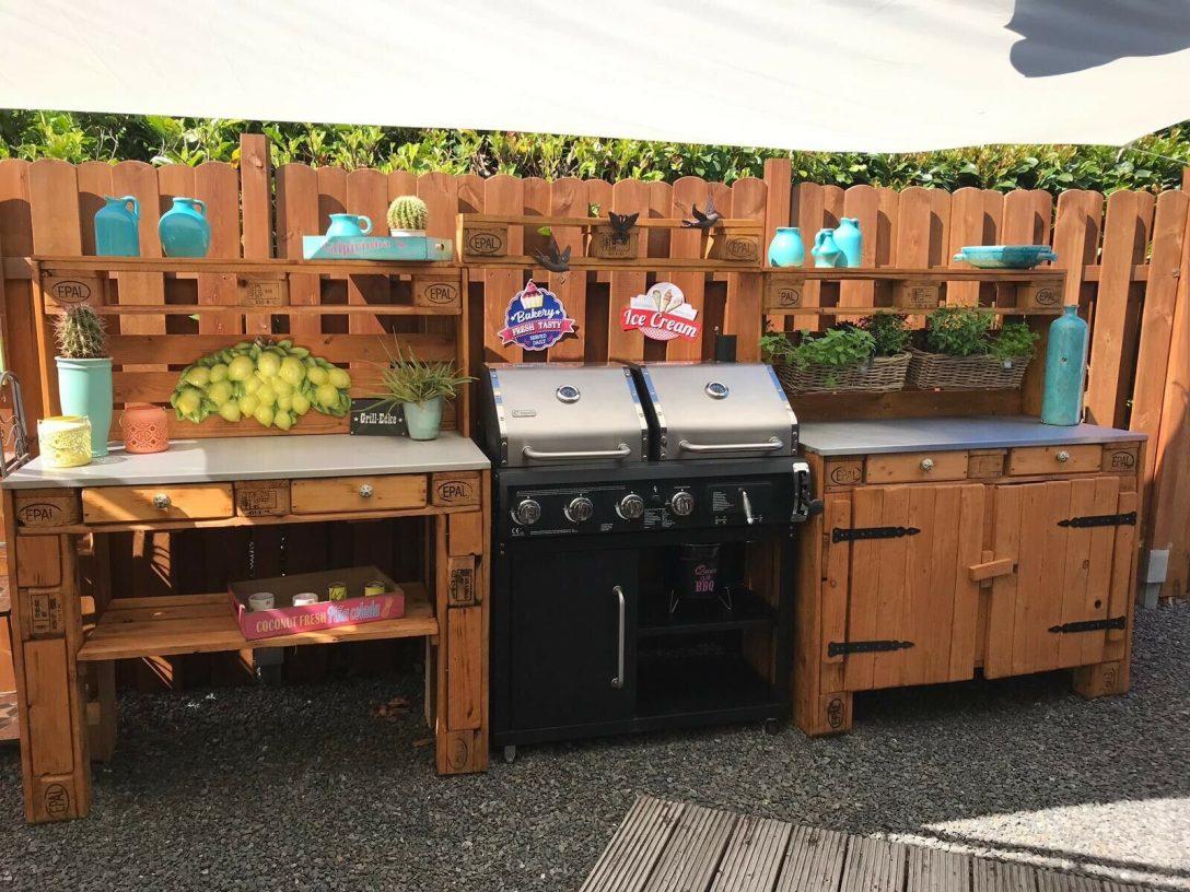 Large Size of Outdoor Küche Kche Aus Europaletten Ebay Obi Einbauküche Einzelschränke Lüftung L Mit Elektrogeräten Sideboard Hochglanz Salamander Rustikal Wohnzimmer Outdoor Küche