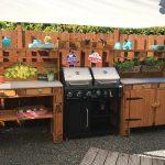 Outdoor Küche Kche Aus Europaletten Ebay Obi Einbauküche Einzelschränke Lüftung L Mit Elektrogeräten Sideboard Hochglanz Salamander Rustikal Wohnzimmer Outdoor Küche