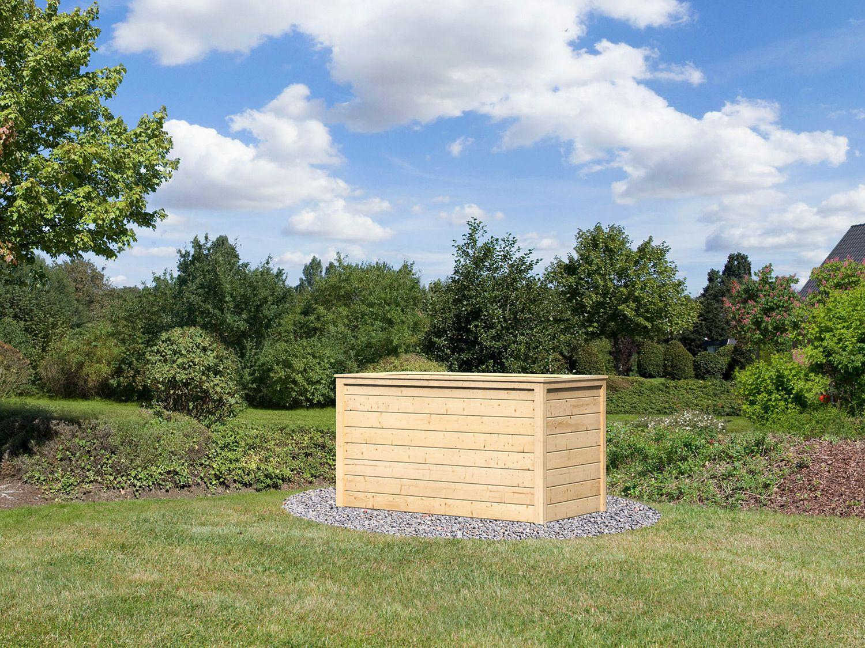 Full Size of Hochbeet Aldi Karibu Lyss Garten Relaxsessel Wohnzimmer Hochbeet Aldi