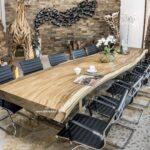 Esstisch Konferenztisch Aus Einer Bohle 400 Cm Der Tischonkel Betten Holz Landhausstil Loungemöbel Garten Massiv Regal Weiß Runder Schlafzimmer Massivholz Esstische Esstisch Holz Massiv