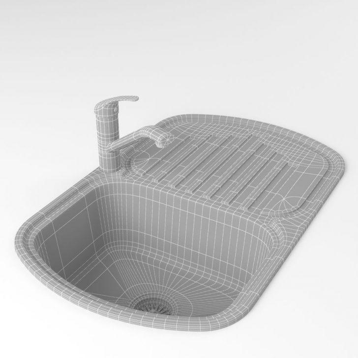 Medium Size of Waschbecken Küche Jaspis Kleine Kche Metall Mit Wasserhahn 3d Modell Handtuchhalter Armatur Ikea Kosten Modulküche Ausstellungsküche Barhocker Moderne Wohnzimmer Waschbecken Küche