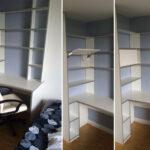 Regal Schreibtisch Kombi Kombination Ikea Selber Bauen Mit Integriert Integriertem Regalaufsatz Klappbar Metall Weiß 25 Cm Breit String Pocket Wildeiche Regal Regal Schreibtisch