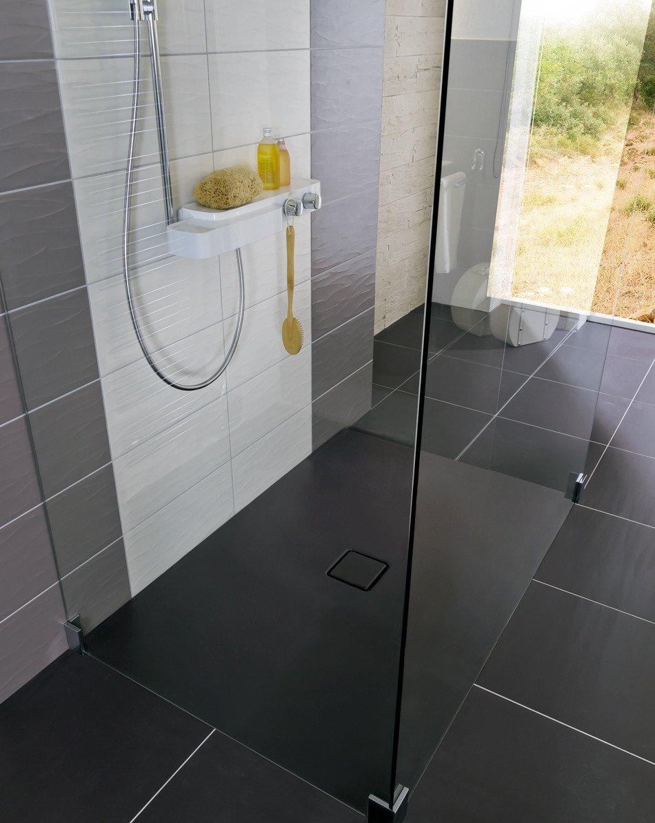 Full Size of Ebenerdige Dusche Bodengleiche Duschen Bad Und Sanitr Baunetz Wissen Mischbatterie Bodengleich Behindertengerechte Einhebelmischer Rainshower Glastrennwand Dusche Ebenerdige Dusche