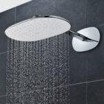 Rainshower Dusche Wandmontierter Duschkopf Oval Regenstrahl Bodengleiche Duschen Glastrennwand Einbauen Eckeinstieg Begehbare 80x80 Ebenerdige Kosten Anal Dusche Rainshower Dusche