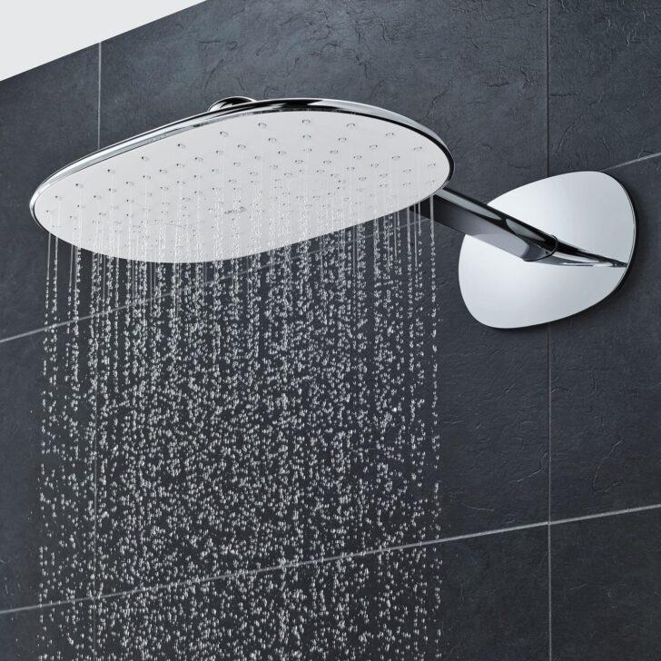 Medium Size of Rainshower Dusche Wandmontierter Duschkopf Oval Regenstrahl Bodengleiche Duschen Glastrennwand Einbauen Eckeinstieg Begehbare 80x80 Ebenerdige Kosten Anal Dusche Rainshower Dusche