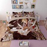 Bettwäsche Teenager Japanische Animation Spiele 3d Jungen Bettwsche Sets Betten Sprüche Für Wohnzimmer Bettwäsche Teenager