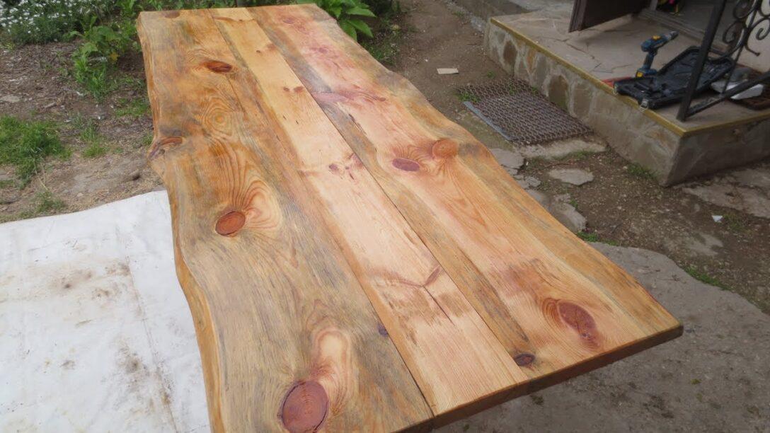 Large Size of Rustikaler Tisch Aus Altmaterial Youtube Esstisch Betonplatte Ausziehbarer Glas Rustikal Kaufen Pendelleuchte Holz Massiv Shabby Chic Quadratisch Esstische Rustikaler Esstisch
