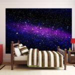 Sternenhimmel Kinderzimmer Fototapete Galaxy Regal Regale Weiß Sofa Kinderzimmer Sternenhimmel Kinderzimmer